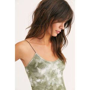 Free People Tops - Free People Seamless Brami M/L in Washed Army